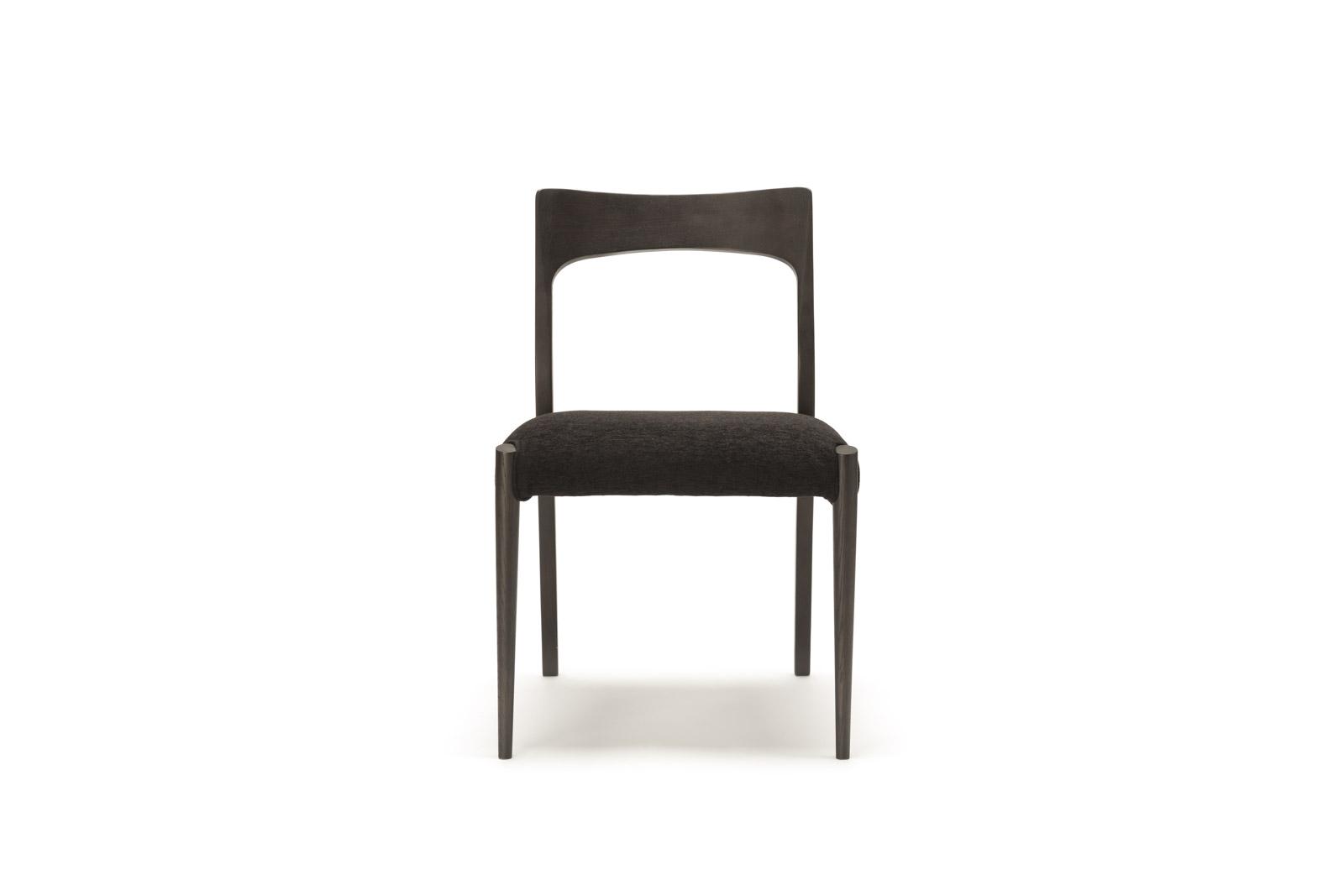 Chair172-DarkWenge-BlackFabrics(Front)